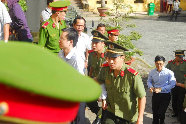 Bị cáo Hoàng Đình Quyế và Phan Thành Mai