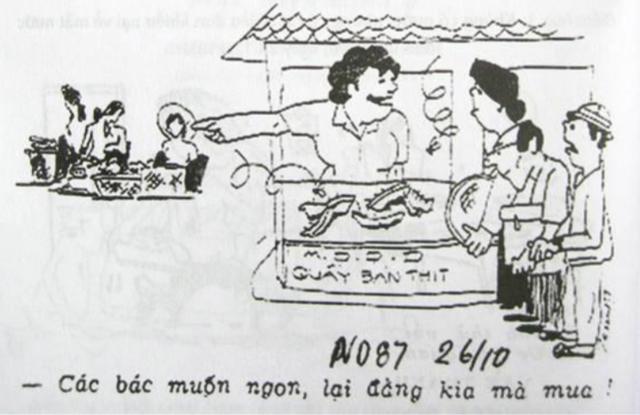 Nơi ngon và nơi không ngon (Báo Nhân dân 26/10/1987)