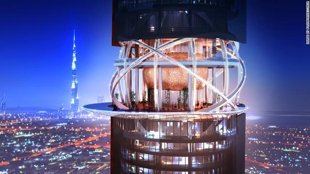 Một điểm nhấn khác của công trình là thiết kế đặc biệt ở tầng 25 của tòa nhà, nơi sẽ trở thành nhà hàng, quán cafe và bể bơi.
