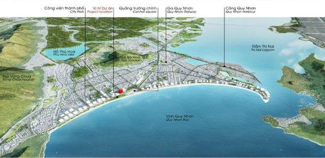 ' Vị trí xây dựng tòa tháp 49 tầng của phật tử Lê Phước Vũ '
