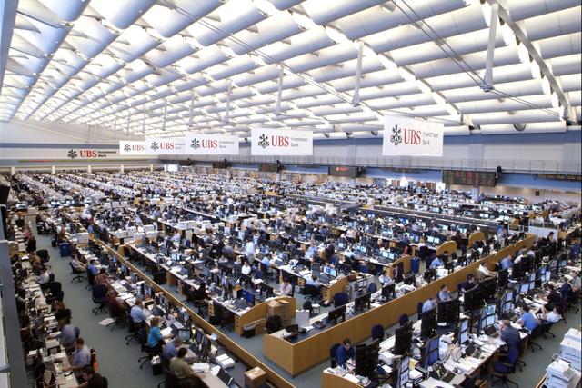 Năm 2008, UBS đã từng là sàn giao dịch lớn nhất thế giới.