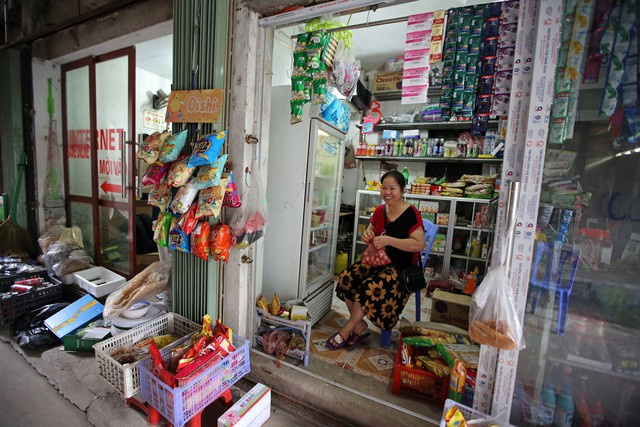 'Cô Nguyễn Thị Dung. Ảnh: Bloomberg'