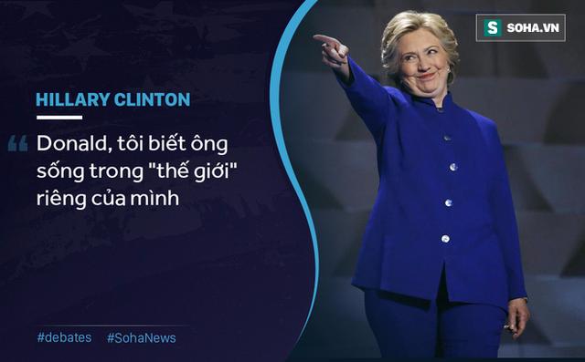 Cuộc tranh luận đầu tiên của Trump - Clinton: Liên tục chỉ trích, ăn miếng trả miếng - Ảnh 7.