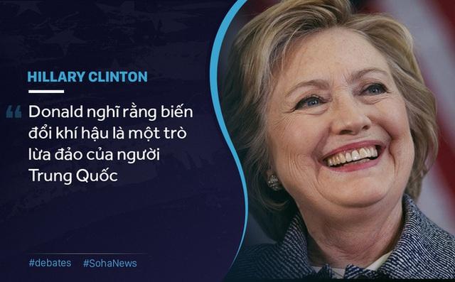 Cuộc tranh luận đầu tiên của Trump - Clinton: Liên tục chỉ trích, ăn miếng trả miếng - Ảnh 3.