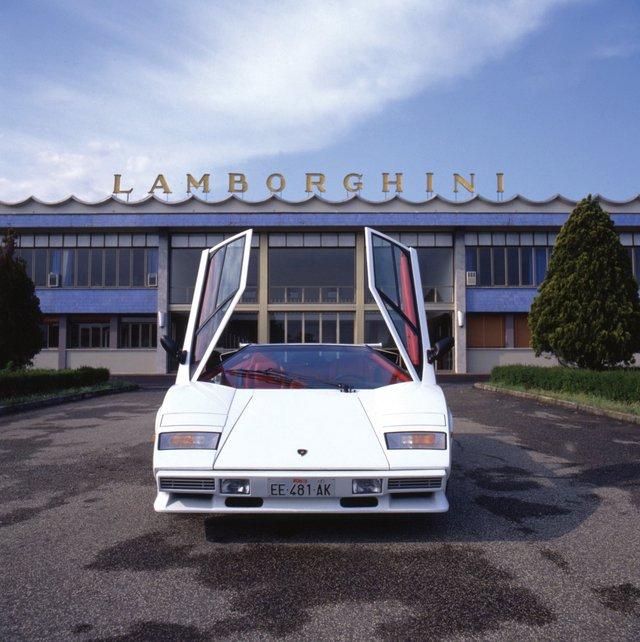 'Một trong những chiếc xe của Lamborghini.'