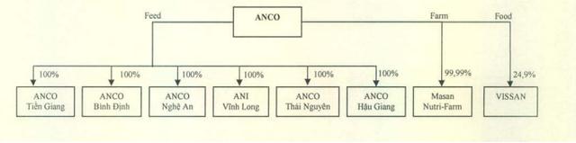 Cơ cấu tổ chức của Anco đi theo mô hình 3F