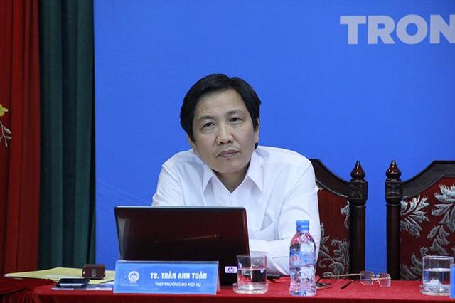 Thứ trưởng Bộ Nội vụ Trần Anh Tuấn. Ảnh: Trần Thường