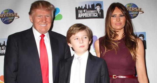 """Đắc cử chức vụ tân tổng thống Hoa Kỳ nhưng Donald Trump và vợ vẫn quyết định để cậu con trai út học trường tại """"quê nhà"""" với mức học phí 47 nghìn đô một năm."""