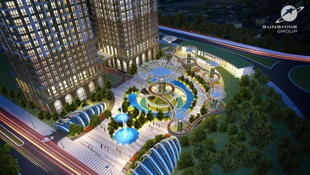 Sunshine Riverside với dịch vụ đẳng cấp 5 sao như một Singapore thu nhỏ trong lòng Hà Nội.