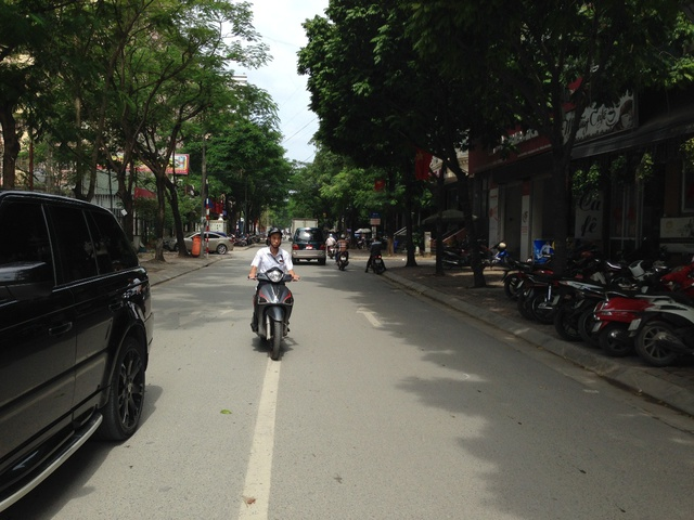 Trục đường Ngụy Như Kom Tum nơi dự án tọa lạc.