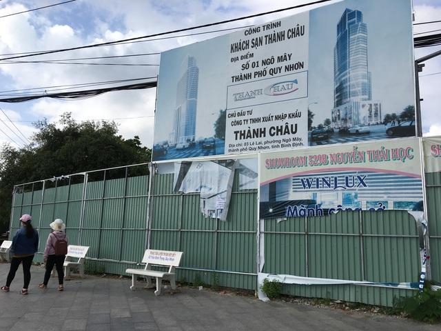 Khu đất năm ngay số 1 Ngô Mây, đối diện Quảng trường tỉnh đã bị chính quyền địa phương thu hồi giao cho tập đoàn Hoa Sen đầu tư khu phức hợp cao nhất miền Trung. Dự án này vừa được chủ đầu tư trao giải thiết kế cho một tập đoàn nước ngoài.