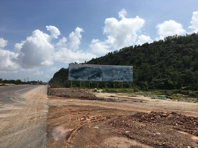 Dự án Khu đô thị Long Vân chỉ là một bảng công bố thông tin đã mờ nhạt