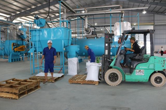 Toàn bộ dây chuyền nhà máy bột cá biển được nhập khẩu từ châu Âu.