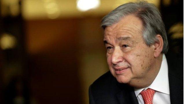 Ông Antonio Guterres, cựu thủ tướng Bồ Đào Nha, người sẽ trở thành Tổng thư ký Liên Hợp Quốc. Ảnh: AFP