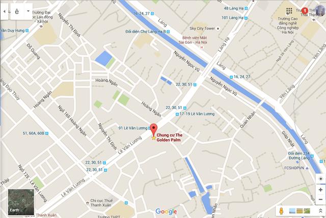Dự án tọa lạc ngay trên đường Lê Văn Lương.