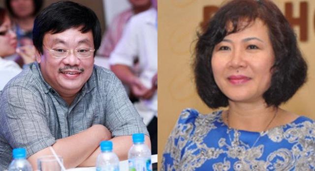Vợ chồng ông Nguyễn Đăng Quang, bà Nguyễn Hoàng Yến