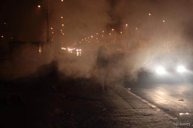 Ô nhiễm khiến cả thủ đô Ulaanbaatar chìm trong khói mù.