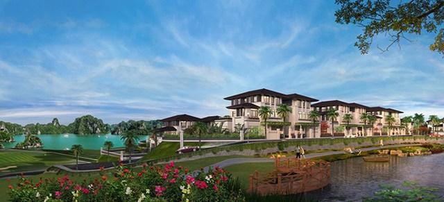 Hơn 260 căn biệt thự nghỉ dưỡng tọa lạc trên đỉnh đồi Văn Nghệ dự kiến sẽ được tung ra thị trường vào cuối năm nay