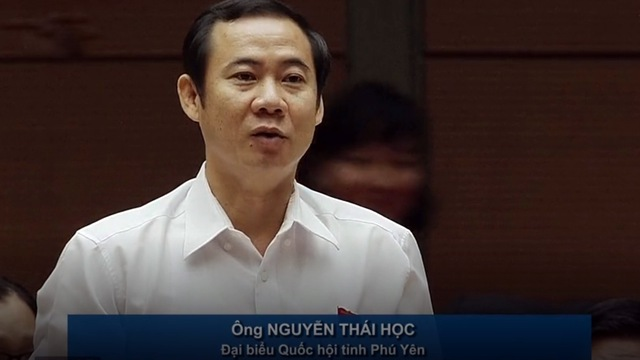 Đại biểu Nguyễn Thái Học