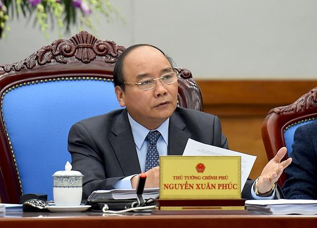 Thủ tướng Nguyễn Xuân Phúc yêu cầu các tỉnh không về Hà Nội chúc Tết. - Ảnh: VGP/Quang Hiếu