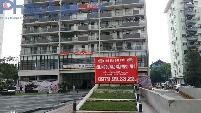 Chung cư VP4 Linh Đàm.