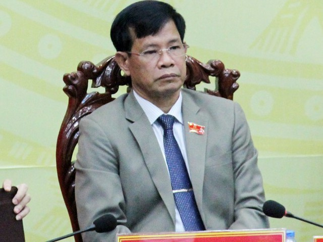 Ông Chắc khẳng định sẽ chấp hành kỷ luật của Đảng. Ảnh: Việt Tường.
