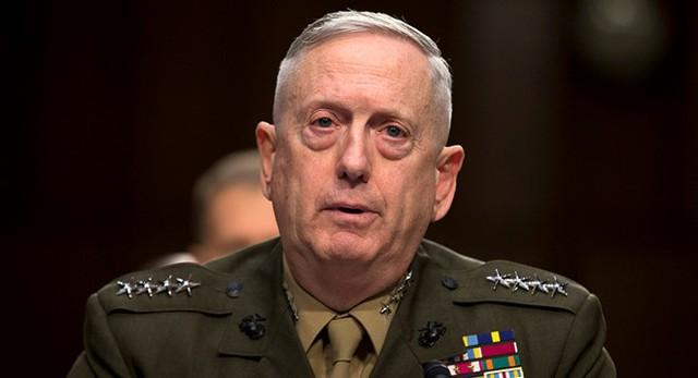 Tướng về hưu James N. Mattis. Ảnh: AP.