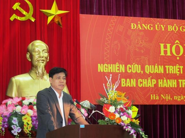 Thứ trưởng Bộ GTVT Nguyễn Ngọc Đông hiện đang phụ trách lĩnh vực đường sắt sẽ kiêm phụ trách HĐTV Tổng công ty Đường sắt Việt Nam