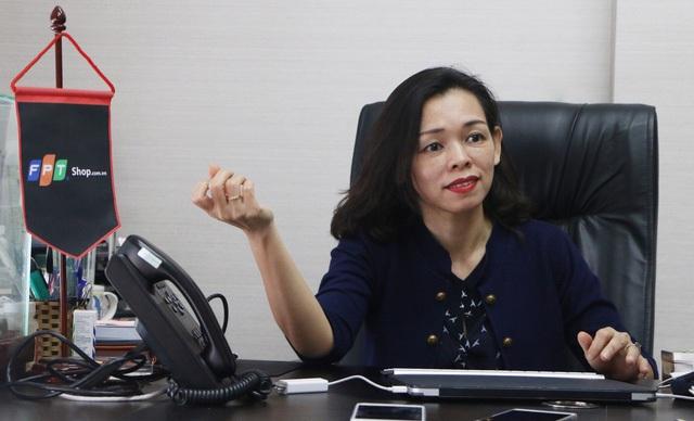 Bà Nguyễn Bạch Điệp, Tổng giám đốc FPT Shop
