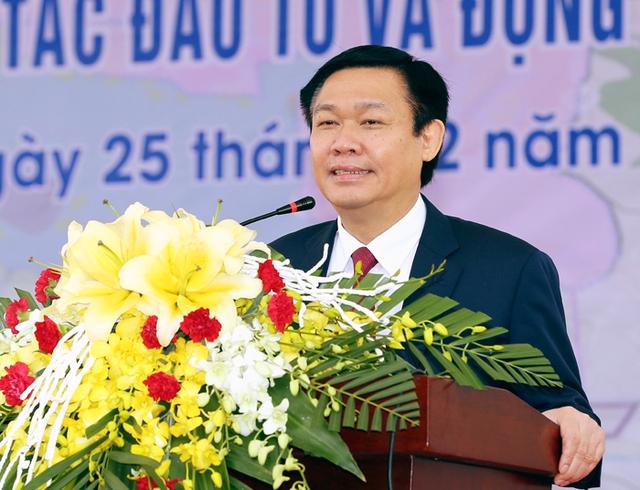 Phó Thủ tướng Vương Đình Huệ lưu ý tỉnh Thái Nguyên chú ý phát triển du lịch cộng đồng. - Ảnh: VGP/Thành Chung