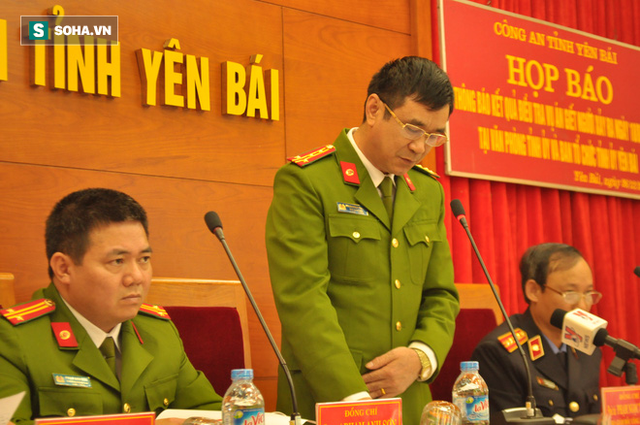 Đại tá Phạm Ngọc Thắng - Phó giám đốc Công an tỉnh Yên Bái.