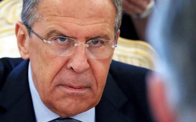 Ngoại trưởng Nga Sergei Lavrov. Ảnh: EPA