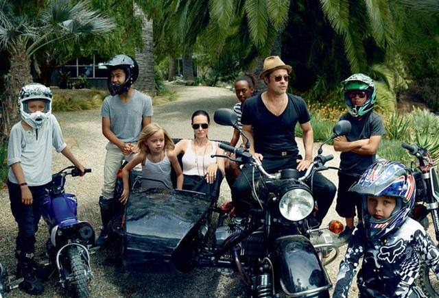 Các con của Angelina và Brad Pitt đều có cá tính rất mạnh.