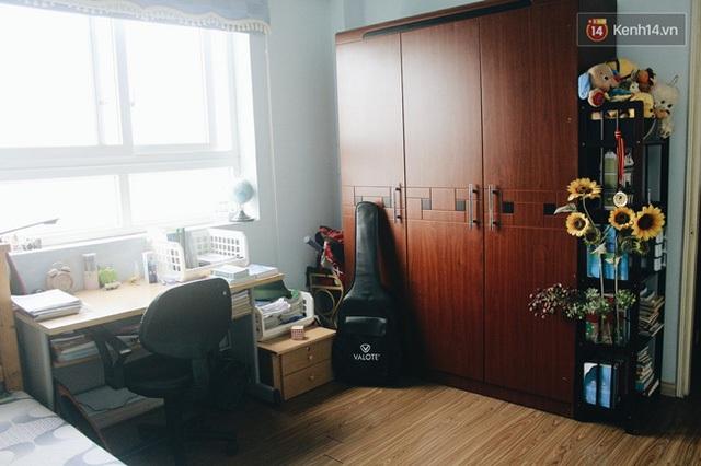 Đối với những căn phòng có tủ gỗ cỡ lớn.
