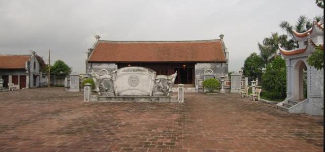 Khu thờ Cao Bá Quát ở làng Sủi (làng Phú Thị), Gia Lâm, Hà Nội. Ảnh: Wikimapia.