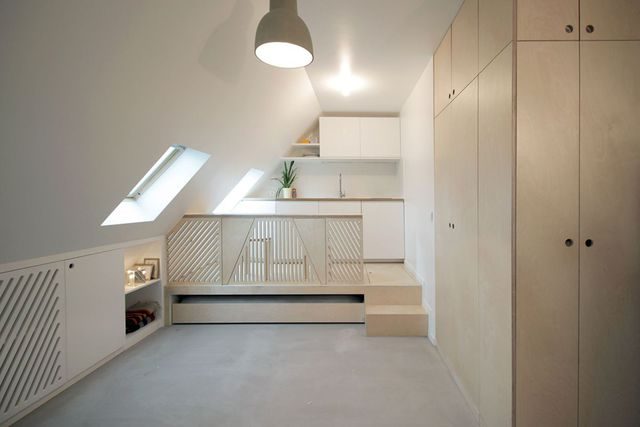 Với diện tích chỉ vẻn vẹn 15m2 nhưng nữ kiến trúc sư trẻ Rebecca Benichou đã biến nơi đây thành không gian đáng sống mà bao nhiêu người mơ ước.