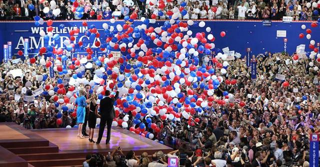 Đại hội đảng Cộng hòa 2016 ở Cleverland. Ảnh: Cleveland