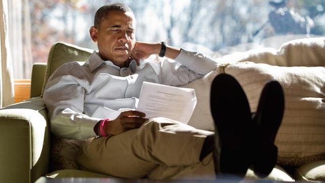Kahneman cho rằng Obama thuộc nhóm Hệ thống 2 khi ông dành rất nhiều thời gian suy nghĩ rồi mới đưa ra câu trả lời.