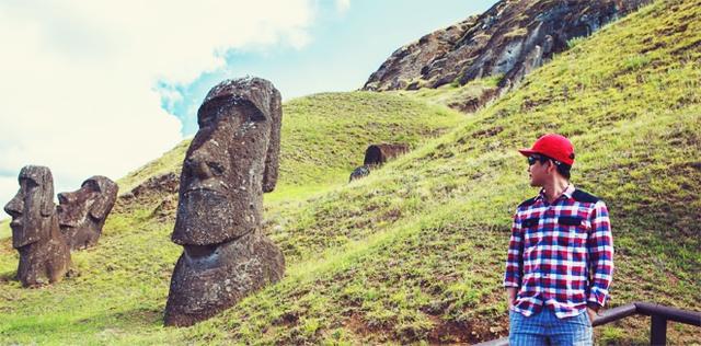 Sự bí ẩn của các tượng đá Moai