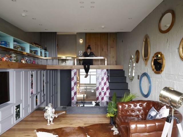 Chỉ với diện tích 50m2 nhưng ngôi nhà có đầy đủ không gian chức năng thoáng sáng thỏa mãn nhu cầu sống, nghỉ ngơi, làm việc của chủ nhà.