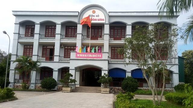 UBND phường Đông Cương, TP Thanh Hóa. Ảnh: Nguyễn Dương.