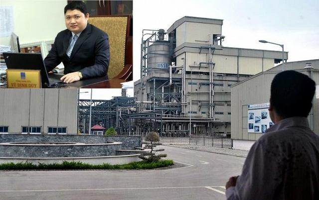 Dự án xơ sợi Đình Vũ thua lỗ, cựu sếp Vũ Đình Duy đã bỏ trốn ra nước ngoài.