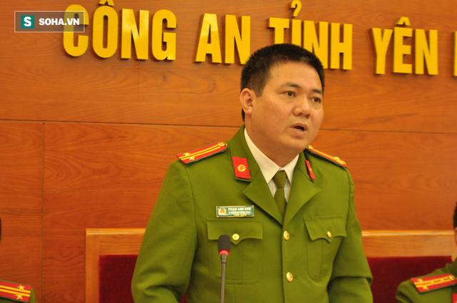 Công an tỉnh Yên Bái công bố kết quả điều tra vụ án.