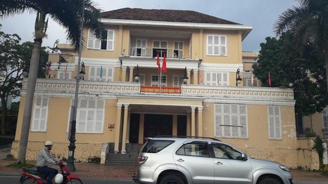 Trụ sở HĐND TP Đà Nẵng (42 Bạch Đằng) sẽ trở thành bảo thành