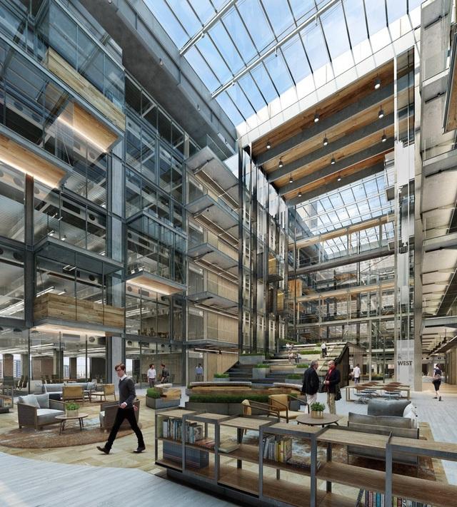 Theo hợp đồng, Apple sẽ được khoảng 40% không gian văn phòng tại nơi đây.