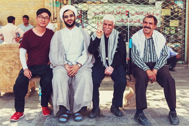 Với người dân Iran thân thiện