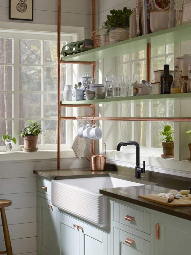 photo 2 1479648686965 Bật mí 4 cách để biến căn bếp 7m² trở nên đẹp đến bất ngờ
