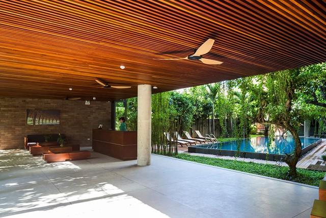 Một không gian nghỉ ngơi trong lành, yên tĩnh vô cùng lý tưởng cho du khách.