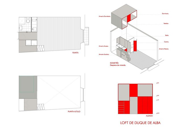 Toàn bộ mô hình bố trí căn hộ.