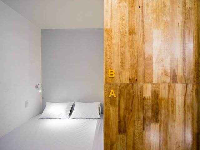 Căn phòng nhỏ dành cho hai người.